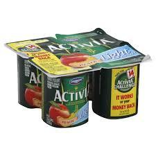 dannon activia light probiotic yogurt