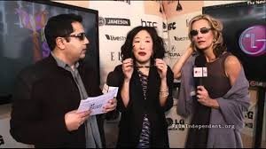 Sandra Oh interview at the 2011 Independent Spirit Awards Live ...