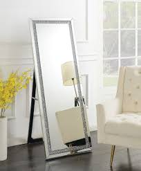 silver standing cheval mirror 961421