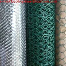 Wire Mesh Chicken Poultry Wire 6 Foot Chicken Wire Fence Green Mesh Fencing Hex Wire Fencing Cheap Poultry Fencing