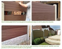 Upvc Fencing Panels That Can Fit Into Your Existing Concrete Posts Concrete Posts Back Garden Design Steel Fence Panels