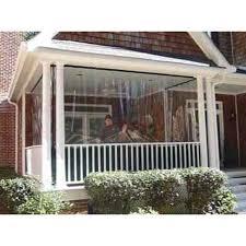 clear vinyl yard waterproof curtain