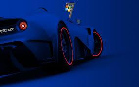 windows 7 car hd desktop wallpaper