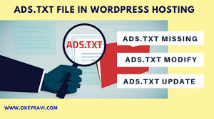 how to edit ads txt without cpanel in