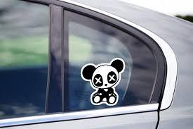 Jdm Panda Car Decal Funny Drift Sticker Cute Vinyl Jdm Archives Midweek Com