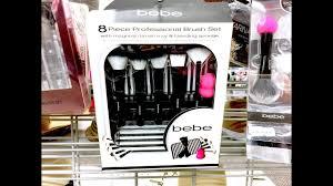 bebe makeup brush set you