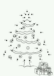 Cijferkleurplaat Kerstboom Kerstwerkbladen Kerst Knutselen En
