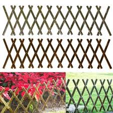 Outdoor Home Diy Support Yard Decoration Plant Climb Expandable Retractable Garden Fence Shopee Philippines