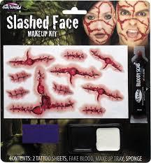 slashed face makeup kit face makeup