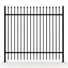 New Garden Security Wrought Iron Fences Designs Steel Fence Panels Decorative Garden Fence Steel Buy Garrison Security Fencing Garrison Fence Garrison Security Fencing For Industrial Product On Alibaba Com