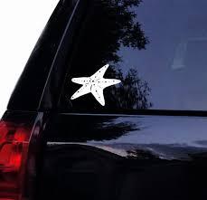 Starfish Decal Star Fish Beach Vinyl Car Decal Laptop Decal Etsy