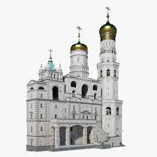 Russian ivan great belltower 3D model - TurboSquid 1181785