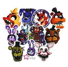 Five Nights At Freddy S Themed Set Of 11 Decal Vinyl Etsy