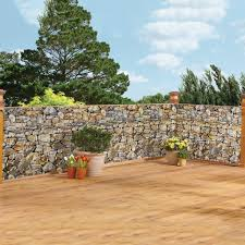 Realistic Faux Stone Privacy Fence Cover Collections Etc