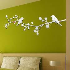 mirror wall stickers living room
