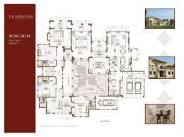 golf homes suncadia floor plans