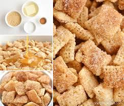 cinnamon sugar chex mix easy