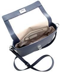 shoulder bag synthetic dark blue