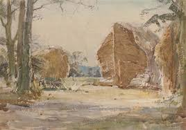 A Norfolk rickyard by Arthur Reginald Smith on artnet