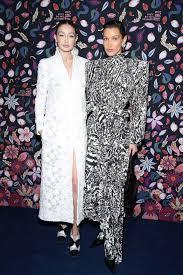 Celebrities front row at Paris Fashion Week 2020
