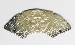 PROPERTY FROM THE SAM AND MYRNA MYERS COLLECTION: A FINE JADE PENDANT  (HUANG) EASTERN ZHOU DYNASTY the arc-shaped pe… | Chinese ceramics, Jade  pendant, Jade carving
