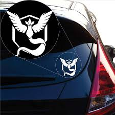 Team Mystic Pokemon Inspired Decal Sticker For Car Window Laptop And Yoonek Graphics