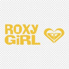 Decal Sticker Roxy Logo Quiksilver 25 Years Anniversary Text Heart Logo Png Pngwing