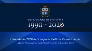 Calendario Polizia Penitenziaria 2020