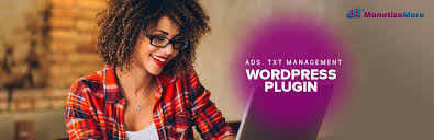 ads txt wordpress plug in monetizemore