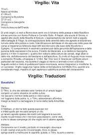 Virgilio, Bucoliche e Georgiche – Docu.Plus