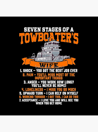 Funny Towboater S Wife Gift Valentines Day Gifts Seven Stages Of A Wife Spouse Tote Bag By Kntranhoang Redbubble