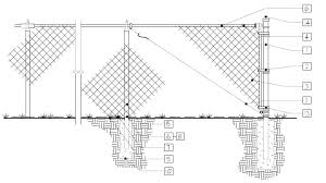Https Www Palmettobay Fl Gov Documentcenter View 92 Standard Chain Link Fence Design Detail Pdf