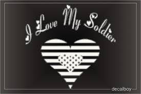 Military Soldier Decals Stickers Decalboy