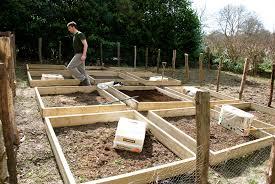 Making Raised Beds For Our Vegetable Garden The Modern Gardener