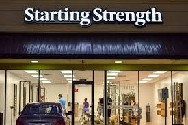 the first three starting strength gyms