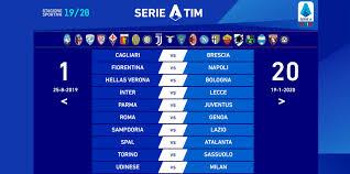 Serie A - Sorteggiato il calendario del campionato 2019-20. La ...