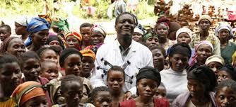 Dr Denis Mukwege à l'Hopital de Panzi