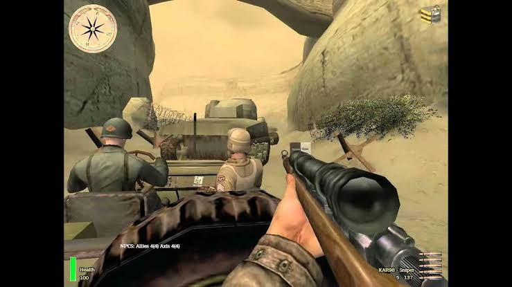 صورة من داخل لعبة medal of Honor: Allied Assault: Breakthrough