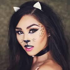 black cat makeup for halloween