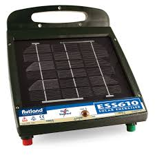Rutland Ess610 Solar Fence Energiser From Chelford Farm Supplies