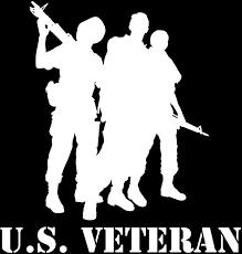 U S Veteran Military Vinyl Window Decal Star Spangled 1776
