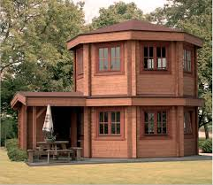 2 story guest house garden shed i
