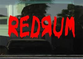 Redrum The Shining Vinyl Decal Sticker Anime Ebay