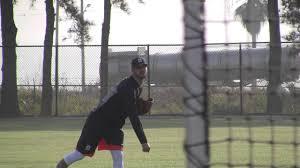 Tigers Spring Training 2017: Myles Jaye - YouTube