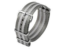 watch strap gk kb108 22mm dark grey