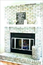 brick fireplace surround carterdecor co