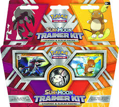 Amazon.com: Pokémon TCG: Sun & Moon Trainer Kit Lycanroc & Alolan ...