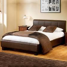 ottoman storage designer leather bed
