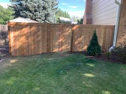 6 Ft Cedar Privacy Fence With Top Cap Knight Fence Company Facebook