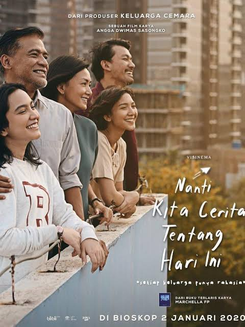 Nanti Kita Cerita Tentang Hari Ini | One Day We'll Talk about Today Movie Poster